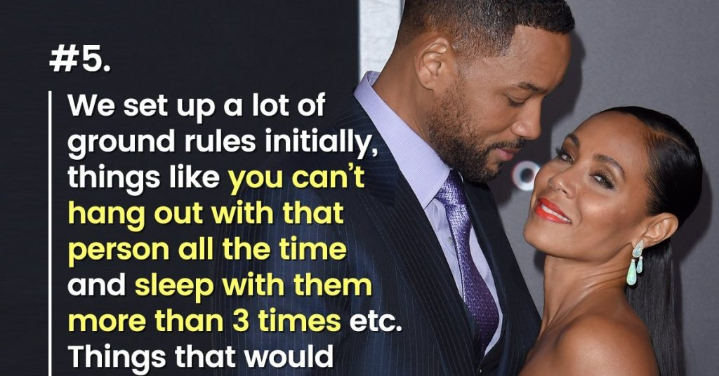 open relationship rule from a reddit post